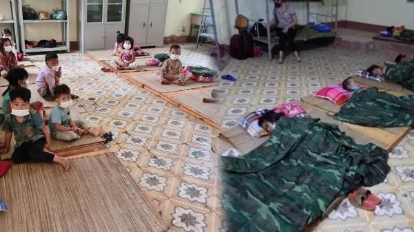 """""""Nhiều em bé ở Điện Biên đi cách ly chỉ có một bộ quần áo, lắm em còn chẳng có dép để mang"""""""