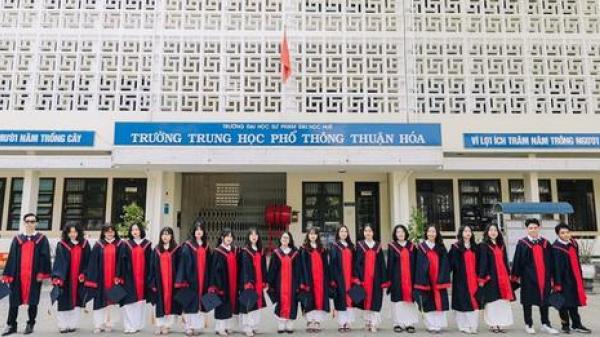 Huế: Lớp học có 100% học sinh đỗ đại học