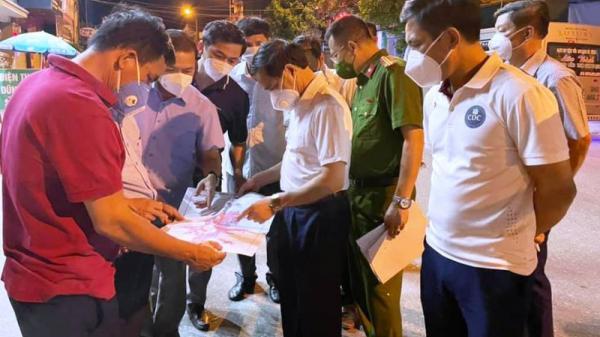 Hà Tĩnh: Phát hiện ca nhiễm cộng đồng, 1 huyện cách ly ngay 10 tổ dân phố