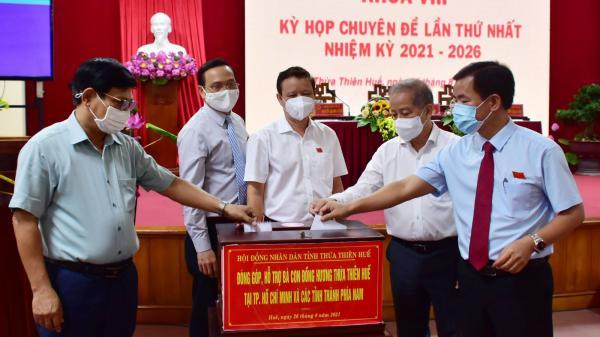 Hỗ trợ người dân Huế ở các tỉnh, thành phố khác gặp khó khăn do dịch COVID-19