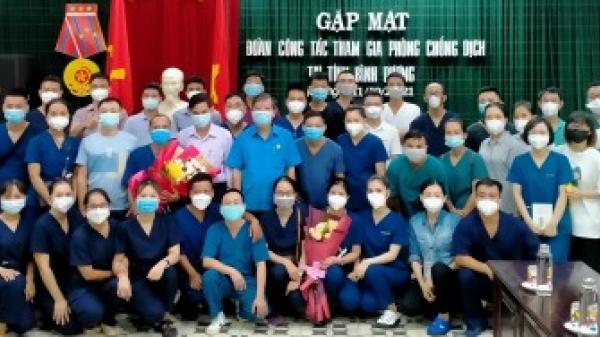 TT-Huế: Thêm 40 nhân viên y tế vào Bình Dương hỗ trợ chống dịch