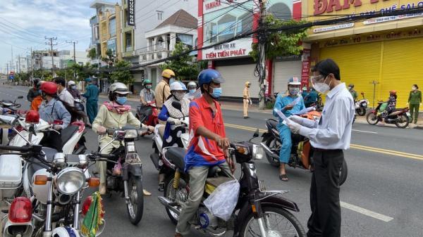 Điều kiện để ra, vào tỉnh An Giang