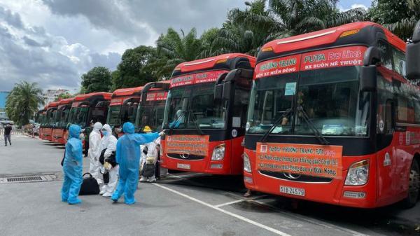 Đề xuất mở 'chuyến xe 0 đồng' đưa người dân đi - đến TP HCM