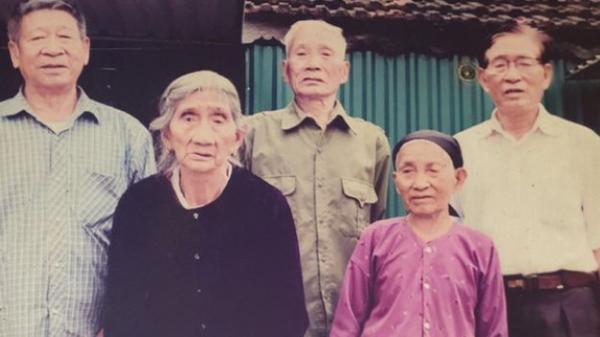 Hy hữu 5 chị em ruột có tuổi thọ từ 85 đến 97 đều khỏe mạnh, minh mẫn