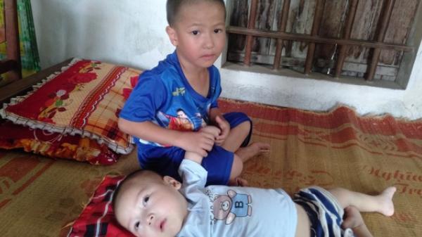 Con trai lớn 5 tuổi mắc bệnh tim, đứa bé 1 tuổi l.iệt tứ chi, người mẹ nuốt nước mắt cầu xin một cơ hội để cứu con