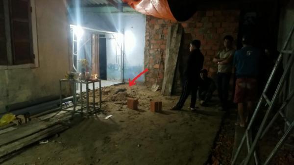 Thông tin mới nhất vụ thi thể được chôn dưới nền nhà là nam giới, có vết thương ở đầu