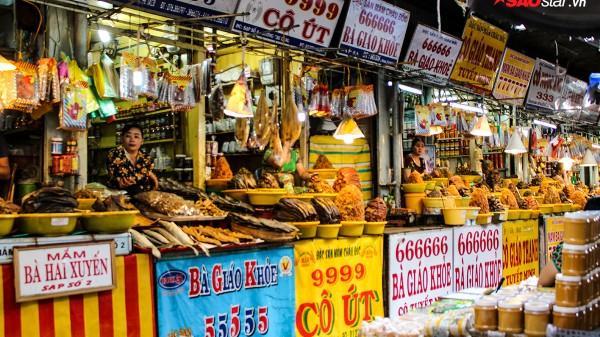 Chợ mắm Châu Đốc, hương vị riêng biệt của vùng sông nước An Giang