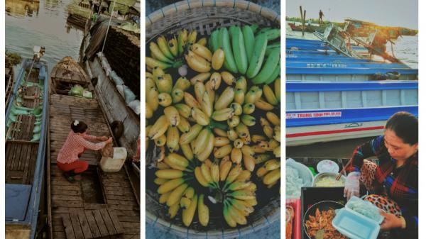 Ăn vặt và ngắm nhìn cuộc sống ở chợ nổi Long Xuyên, bạn sẽ càng yêu mảnh đất An Giang!