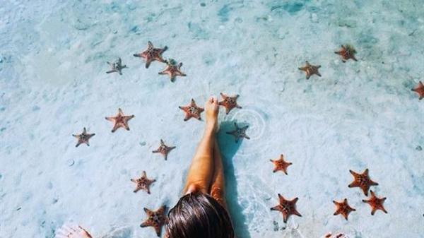 Bắt 'trend' sống ảo 'cực nghệ' ở 'Vương quốc sao Biển' đẹp mê hồn cách An Giang không xa