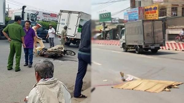 Chở vợ lên Sài Gòn thăm con nhưng chưa kịp đến chỗ trọ, vợ đã chết thảm dưới bánh xe tải
