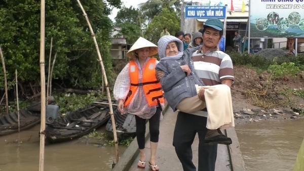Ứng phó bão Tembin: Tính mạng người dân là trên hết