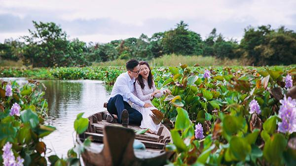 """Chàng trai dược sỹ đưa vợ tương lai đi khắp An Giang chụp ảnh cưới khiến ai cũng muốn """"cưới ngay kẻo lỡ"""""""