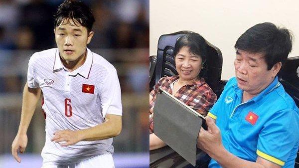 """Bố Xuân Trường nói gì về hành động """"lạ"""" của con trai trong trận U23 Qatar?"""