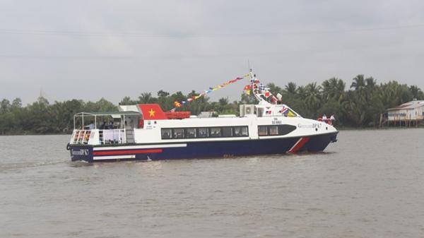 Khai trương tuyến tàu cao tốc miền Tây đi Vũng Tàu