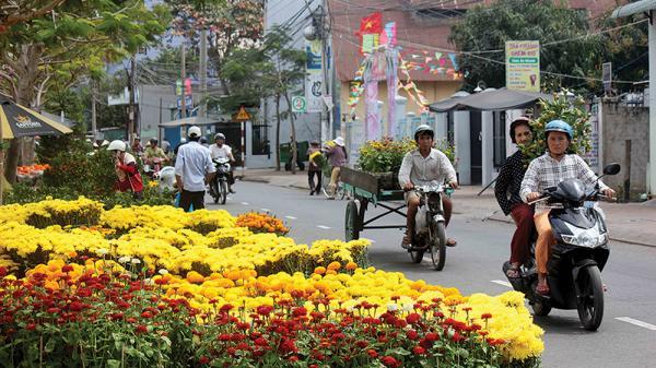 Thích thú ngắm nhìn những bức ảnh về không khí đón Tết ở An Giang