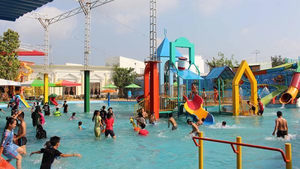 Khai trương Công viên nước đầu tiên ở An Giang