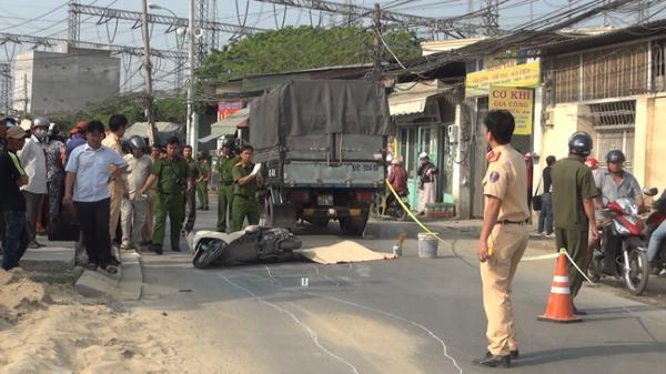 Cô gái 20 tuổi điều khiển xe mang BKS An Giang chết thảm dưới bánh xe tải trên đường phố