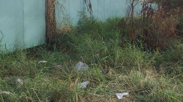 Tá hỏa phát hiện xác người chết khô dưới lớp cỏ trong bãi đất trống