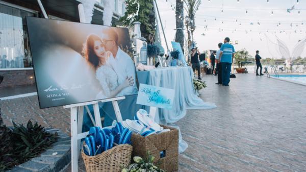 Tiệc cưới bên hồ bơi của cặp uyên ương miền Tây cùng nhau bước qua cửa tử gây xôn xao cộng đồng mạng