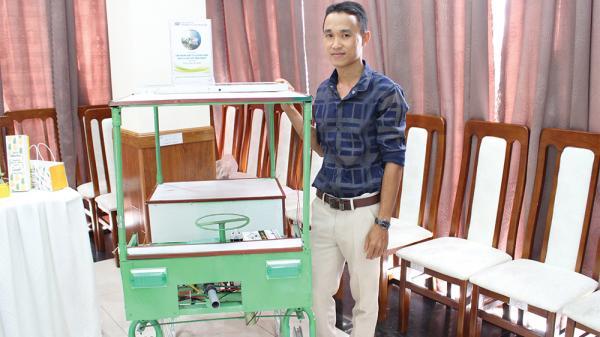 Thầy giáo trẻ An Giang thành công với robot đa năng