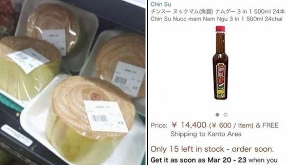 Đừng ngất, thân chuối siêu đắt ở Nhật cũng chưa bằng combo nước mắm Nam Ngư tận 3 triệu, bỏ làm đi buôn thôi!