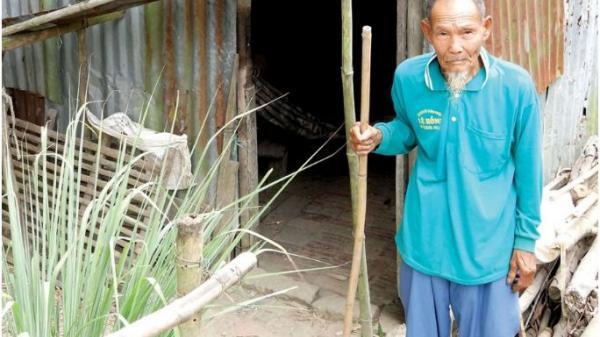 An Giang: Hoàn cảnh khó khăn của cụ ông 86 tuổi đơn thân cần sự giúp đỡ