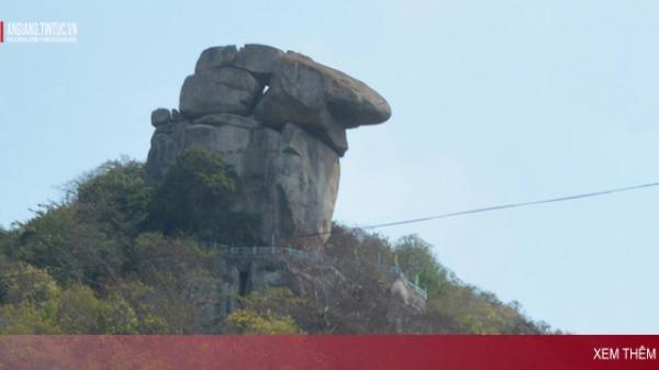 An Giang: Ly kỳ về những hòn đá kỳ lạ linh thiêng vùng Bảy Núi