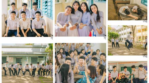 'Trăm nghìn mùa hạ' - bộ kỉ yếu của các cô cậu học sinh An Giang đẹp không khác gì những poster phim!