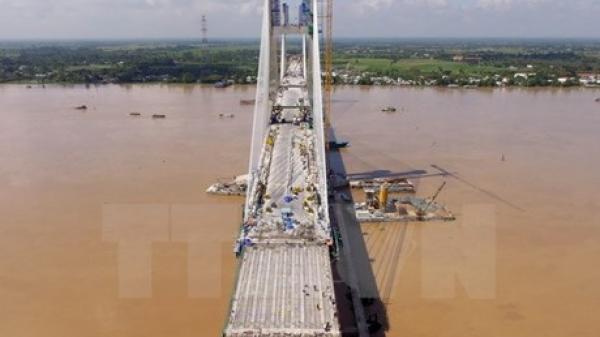 Miền Tây: Nứt dầm cầu Vàm Cống sẽ được khắc phục xong vào cuối năm 2018