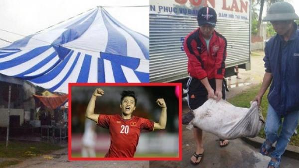 Nhà Văn Đức mổ lợn, dựng rạp như đám cưới, đón chờ đêm chung kết Việt Nam đấu Malaysia