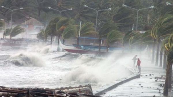 Cơn bão đầu tiên trong năm 2019 đang hướng vào vùng biển miền Tây