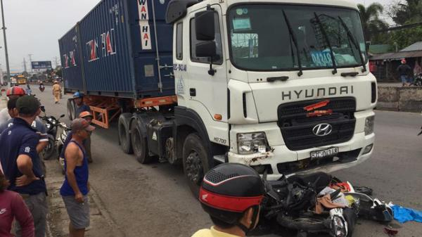 Miền Tây: Danh tính tài xế xe container gây ra vụ tai nạn thảm khốc rồi bỏ trốn khỏi hiện trường