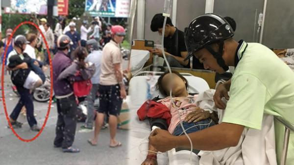 Tình người giữa đau t.hương: Anh xe ôm ở miền Tây bỏ hết công việc, bồng bế từng n.ạn nhân lên xe cấp c.ứu vào bệnh viện