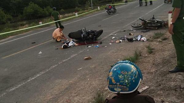 Miền Tây: Xe máy đối đầu thảm khốc khiến 4 người th.ương v.ong