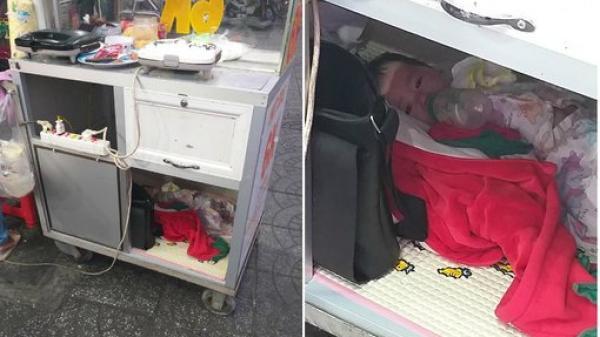 Quặn lòng cảnh người mẹ miền Tây bán bánh đặt con nằm bú sữa dưới thùng xe để tiếp tục mưu sinh: 'Chỉ có tình mẹ là vô biên!'