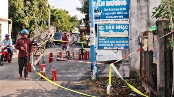 Hiện trường vụ cháy tang thương khiến cả 3 người trong gia đình t.ử v.ong, ai đi qua cũng rớt nước mắt vì quá thảm khốc