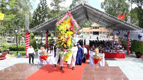 Người dân An Giang tưởng niệm 39 năm ngày mất của Chủ tịch Tôn Đức Thắng