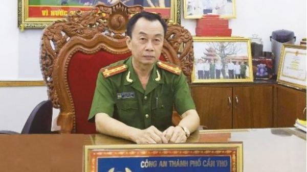 Phó giám đốc Công an TP Cần Thơ Huỳnh Đấu Tranh được an táng tại quê nhà Vĩnh Long