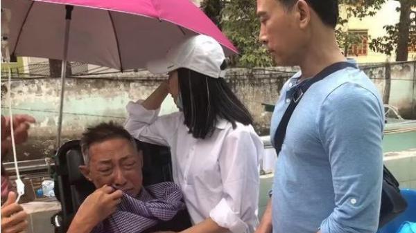 CLIP: Nghệ sĩ Lê Bình khóc nức nở với Cát Phượng: 'Lần vô thuốc này anh đau quá em ơi'