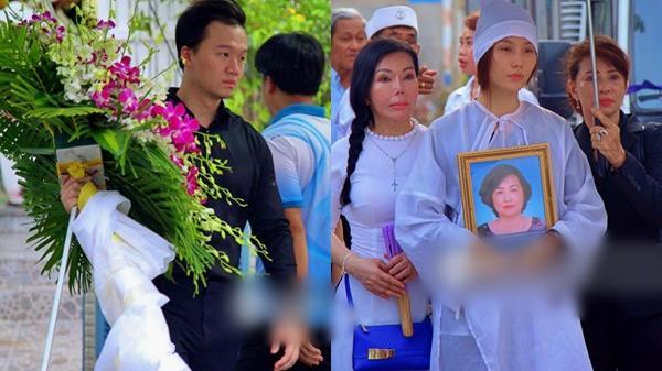 Diễn viên Diễm My 9x thất thần, nghẹn ngào bật khóc trước giờ tiễn biệt mẹ về nơi an nghỉ