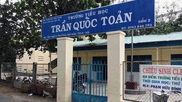 An Giang: Tạm giữ khẩn cấp gã đàn ông d.âm ô 6 học sinh lớp 1 tại trường