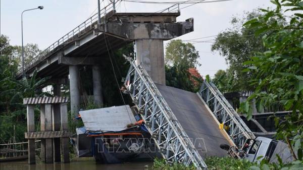 Đồng Tháp: Đã tìm ra nguyên nhân khiến cầu Tân Nghĩa bị sập