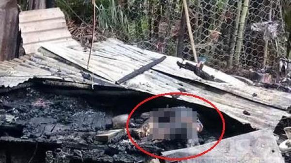 Chồng chém vợ rồi phóng hỏa đốt nhà, 2 mẹ con tử vong thương tâm