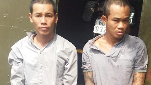 Đồng Tháp: Hai đối tượng cướp tài sản và vận chuyển ma túy trốn khỏi nơi giam giữ