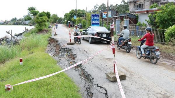 Thêm một quốc lộ của tỉnh An Giang có thể bị 'nuốt chửng'