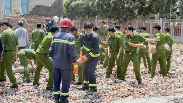 Kết luận giám định chính thức vụ sập tường khiến 7 người ch ết ở Vĩnh Long