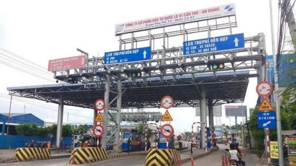 Tổng cục Đường bộ đề xuất tạm thời không thu phí trạm T2 trên QL91 nối An Giang - Cần Thơ