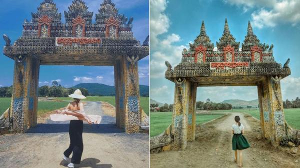 Lộ diện 'cổng trời' An Giang thu hút tín đồ du lịch đến check-in