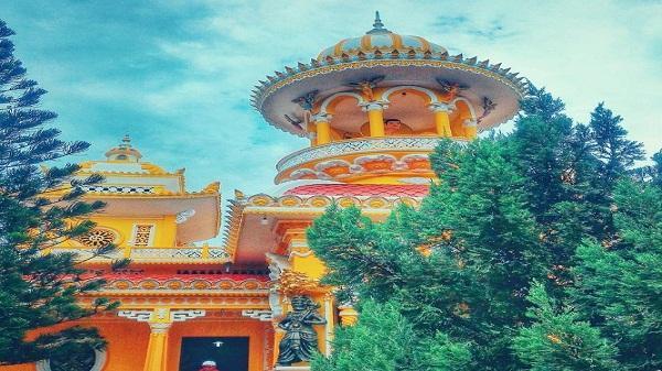 Tây An cổ tự - Nơi giao thoa giữa hai nền kiến trúc Việt cổ và Ấn Độ