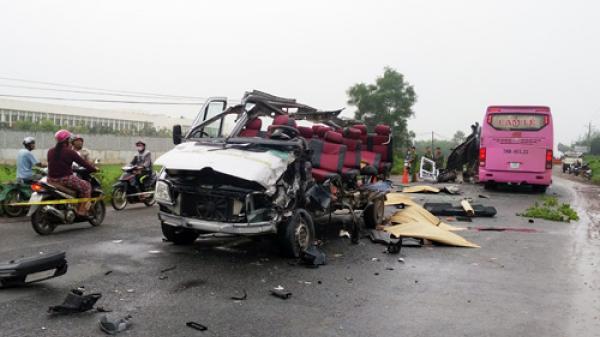 Tai nạn thảm khốc ở Tây Ninh, nạn nhân trên xe 16 chỗ đều ở An Giang